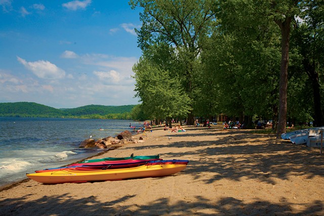 Sand Bar State Park - COURTESY OF AL ABRAMS/VERMONT STATE PARKS