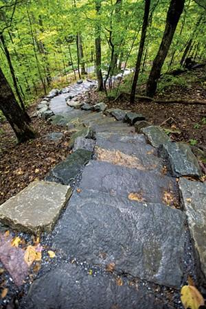 Mount Philo stairs - JAY ERICSON