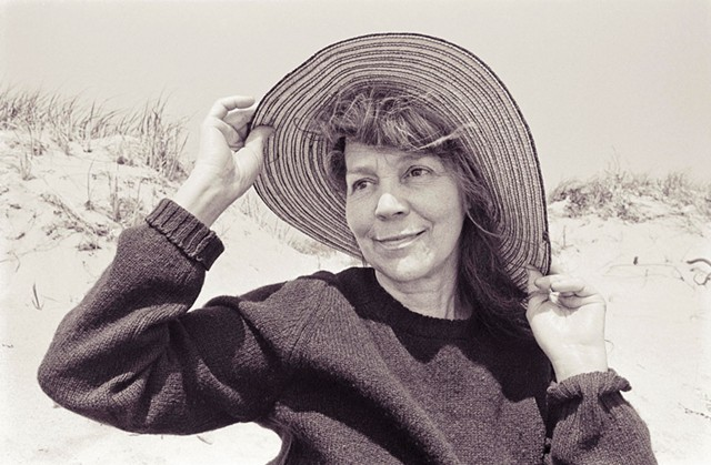 Ruth Stone in 1977 - COURTESY OF DAVID CARLSON