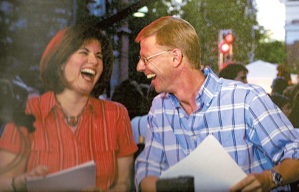 Stephanie Gorin and Tom Messner - COURTESY