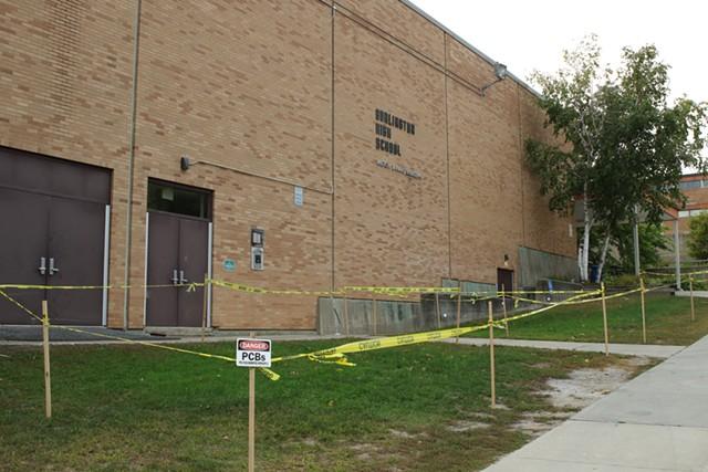 Burlington High School's Institute Road campus - FILE: COURTNEY LAMDIN ©️ SEVEN DAYS