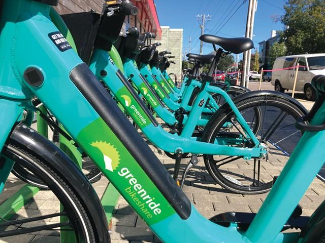 Bolt Mobility e-bikes - JEFF BARON ©️ SEVEN DAYS
