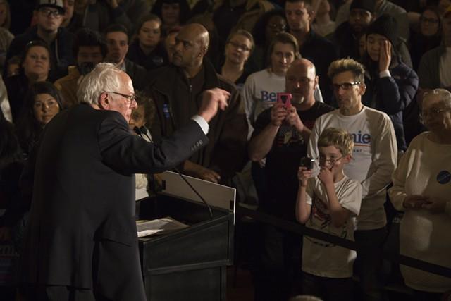Sen. Bernie Sanders - FILE: MATTHEW TERRY