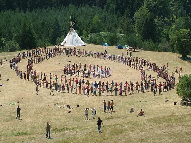 A 2007 Rainbow Gathering in Bosnia - ALJAZ ZAJC / WIKIPEDIA