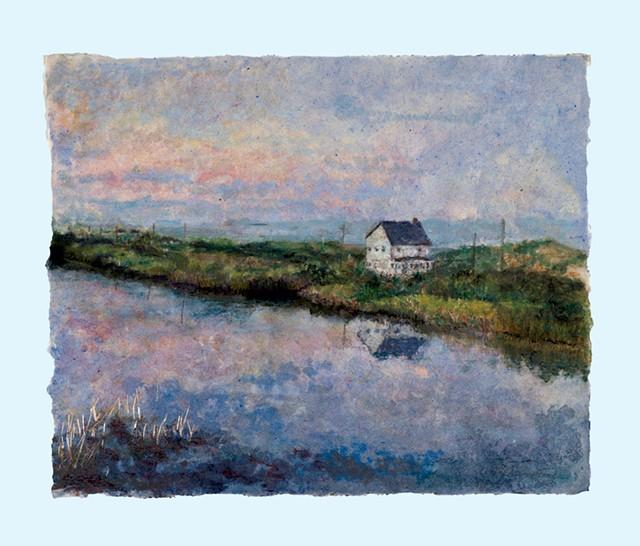 """""""Harbor Pond Dusk"""""""