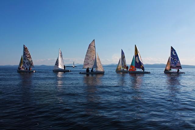 Six new art sails - JILL BADOLATO