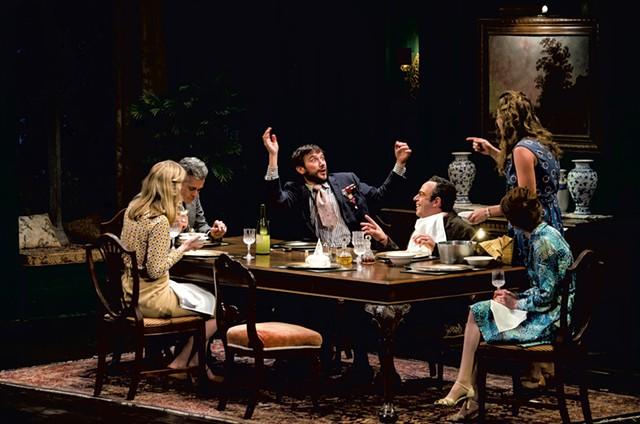 Left to right: Ashton Heyl, Mark Light-Orr, Richard Gallagher, David Mason, Jenni Putney, Caitlin Clouthier - COURTESY OF TAYLOR CRICHTON