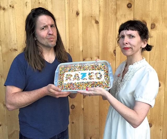 Eric Olsen and Kimberly Harrington - COURTESY OF AMANDA GUSTAFSON