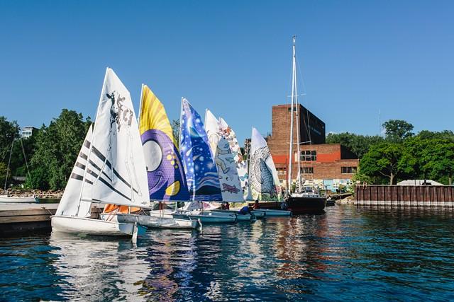 Six new art sails - MICHAEL SIPE