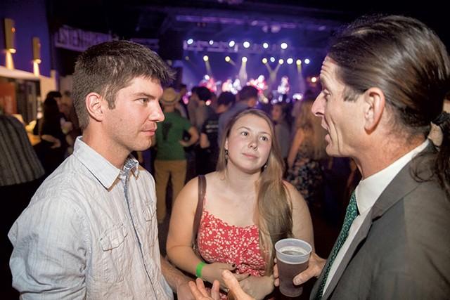 Nick Clark, Ashley Andreas and David Zuckerman - JAMES BUCK