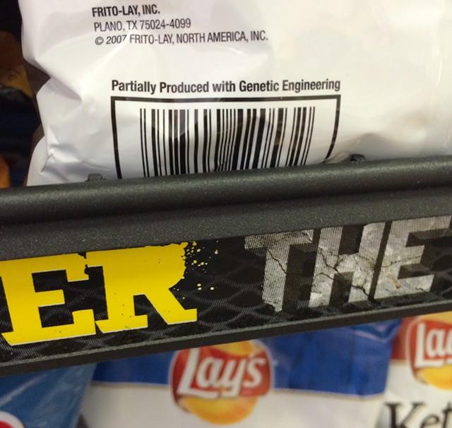 A bag of chips for sale in Burlington Friday - MARK DAVIS
