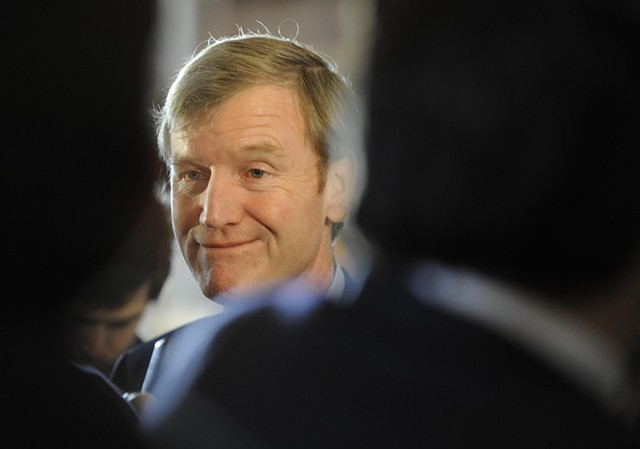 Scott Milne in January 2015 at the Statehouse - FILE: JEB WALLACE-BRODEUR