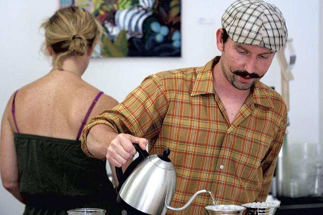 Chris Gleason at Tremolo - SUZANNE PODHAIZER