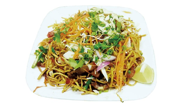 Chicken chow mein at Nepali Kitchen - COURTESY OF NEPALI KITCHEN