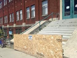 Burlington's Memorial Auditorium - MOLLY WALSH