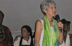 Green Party candidate Jill Stein - KEVIN J. KELLEY