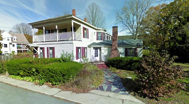 A home formerly owned by Catherine Tolaro and left to Paul Kane in her will - GOOGLE