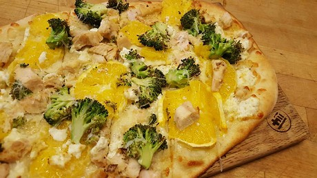 Positive Pie pizza - COURTESY OF POSITIVE PIE