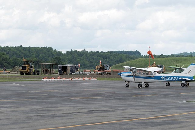 Northeast Kingdom International Airport - FILE: DON WHIPPLE