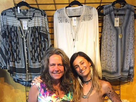 Andrea Miksic and Sarah Lesser - COURTESY OF SALAAM BOUTIQUE