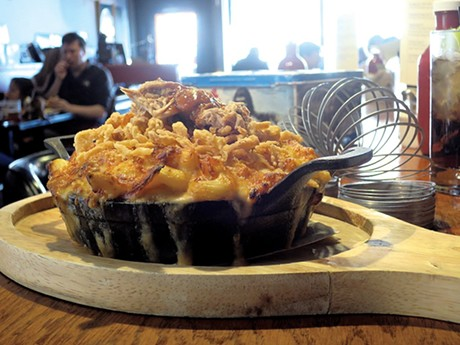 Barbecue mac at Our House Bistro - FILE: MATTHEW THORSEN