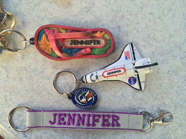 Personalized keychains - RACHEL JONES