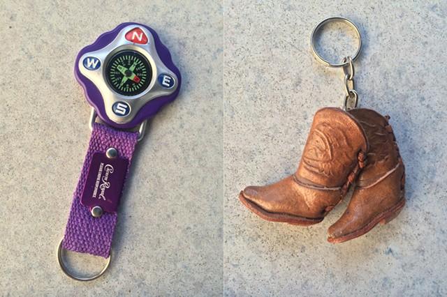 Keychains from Brinkman's collection - RACHEL JONES