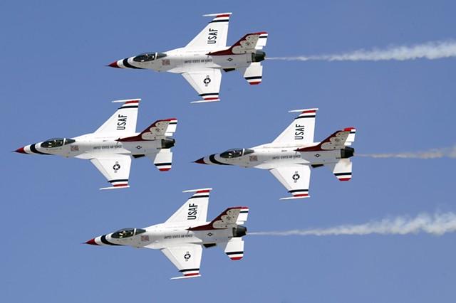 Thunderbirds - U.S. AIR FORCE