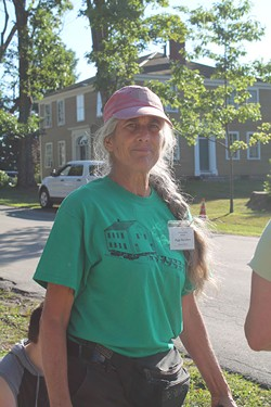 Peggy Day Gibson, director of Old Stone House Museum - JULIA SHIPLEY