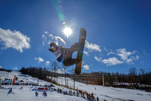 Vermont Open Snowboard and Music Festival - COURTESY OF HUBERT SCHRIEBL