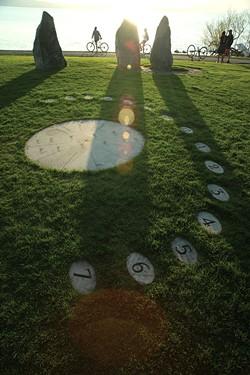 Burlington Earth Clock - MATTHEW THORSEN