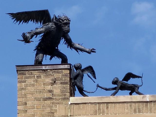 Winged monkeys by Steve Larrabee - MATTHEW THORSEN
