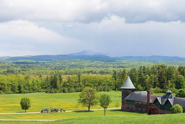 Shelburne Farms - COURTESY OF MARSHALL WEBB