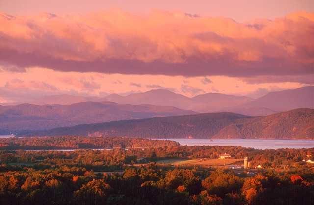 View from Mt. Philo - JEB WALLACE-BRODEUR