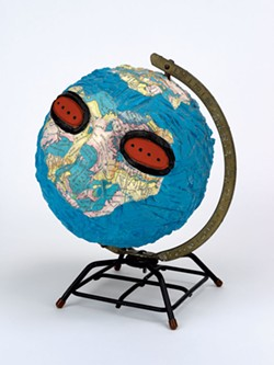 """Untitled (Globe Head)"" by David Wojnarowicz - COURTESY OF HALL ART FOUNDATION"