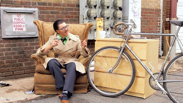 "Still from ""Do Bicycles Dream of Electric Humans"""