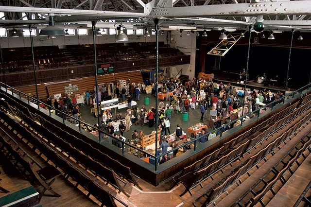 Burlington Farmers Market at Memorial Auditorium - FILE: MATTHEW THORSEN