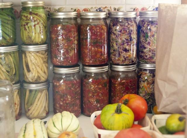 Harvest ferments: dilly beans, salsa, kimchi-kraut, oh my! - HANNAH PALMER EGAN