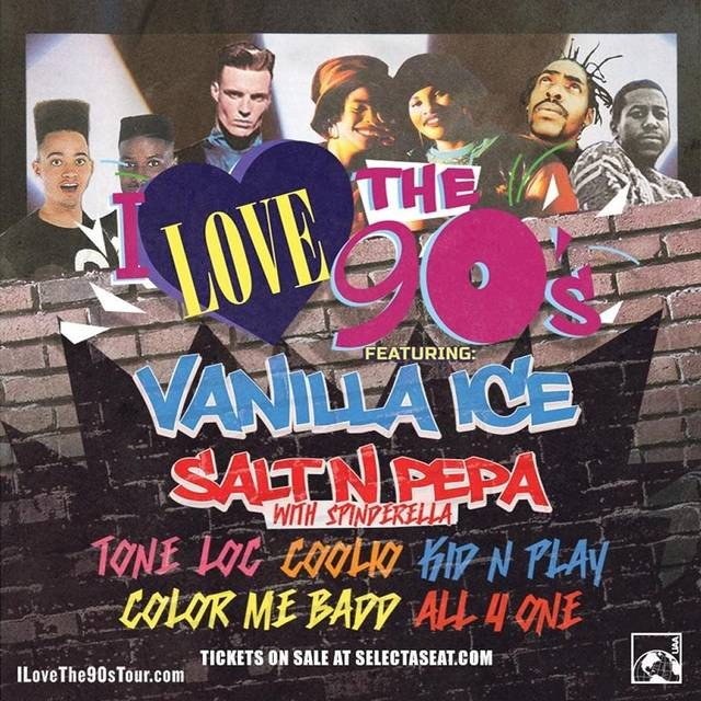 'I Love the '90s': the poster! - CHAMPLAIN VALLEY FAIR