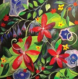 """Mary Hill, """"Fantasy Garden"""""""