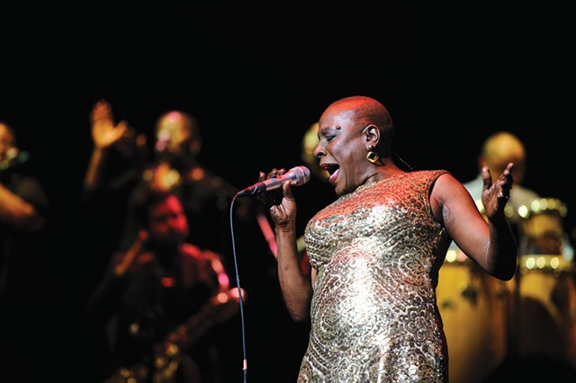 Movie still from Miss Sharon Jones! - COURTESY OF VERMONT INTERNATIONAL FILM FOUNDATION