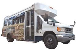 Burlington Brew Tours bus - MATTHEW THORSEN