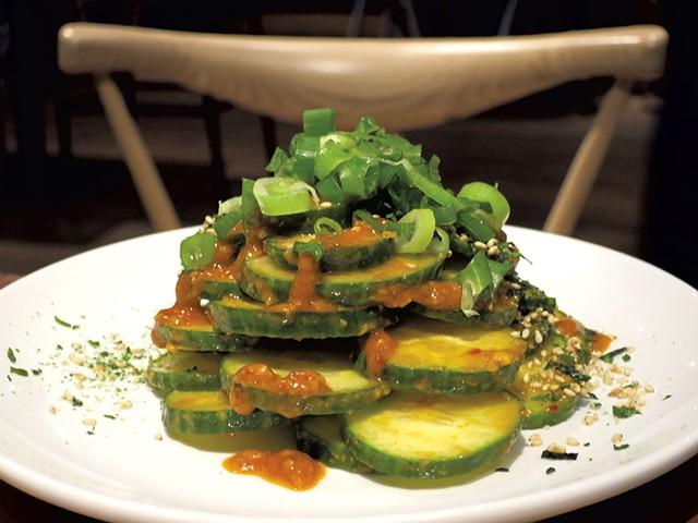 Japanese cucumber - MATTHEW THORSEN