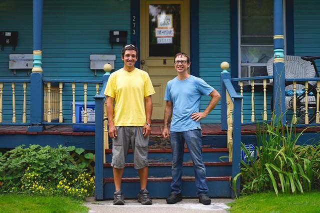 Paul Sansone and Tim Elliot of Shy Guy Gelato - NICK BUCCI PHOTOGRAPHY