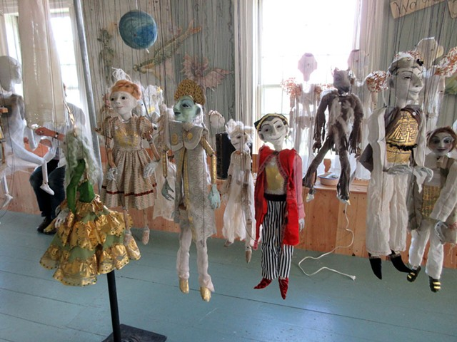Puppets by Julia Zanes - AMY LILLY