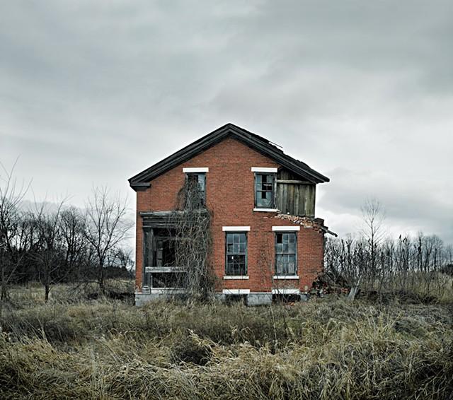 """Shoreham Abandoned 1"" - COURTESY OF JIM WESTPHALEN"