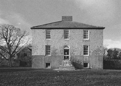 Kilmahon House, the Pearce family home in Shanagarry, Ireland, in the 1960s - COURTESY OF SIMON PEARCE, JOHN SHERMAN & GLENN SUOKKO