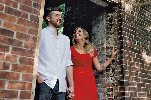 Nicholas Adams and Jessica Hendry Nelson - COURTESY OF JESSICA HENDRY NELSON