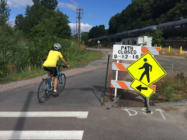The capital bond would fund additional repaving of the Burlington Bike Path. - FILE: ALICIA FREESE