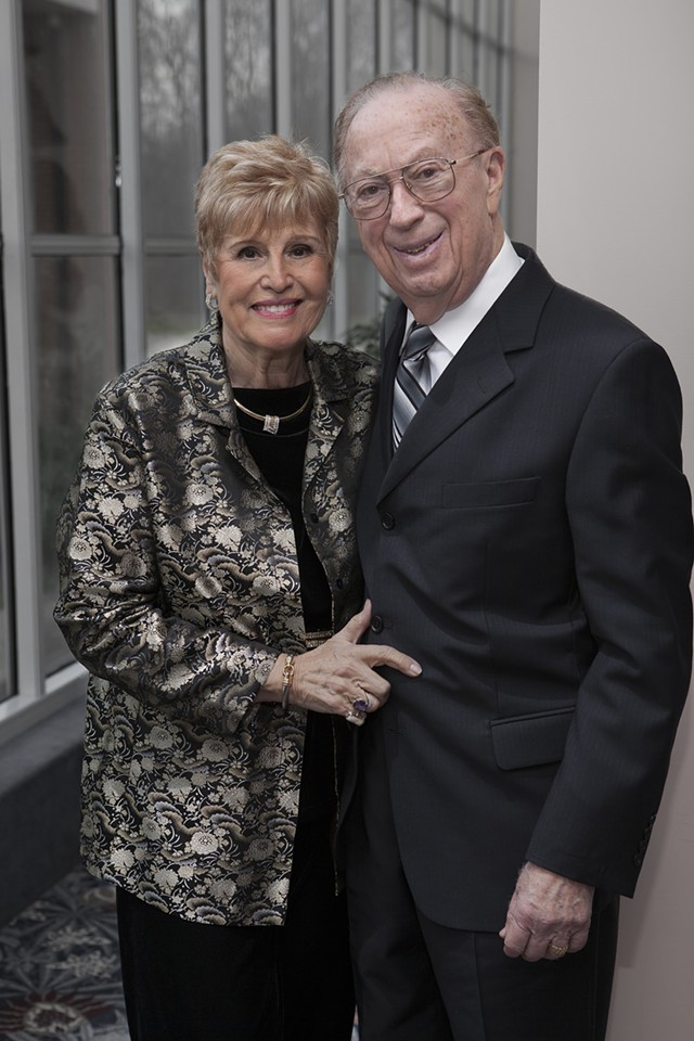 Robert and Helen Larner - MARK LESLIE